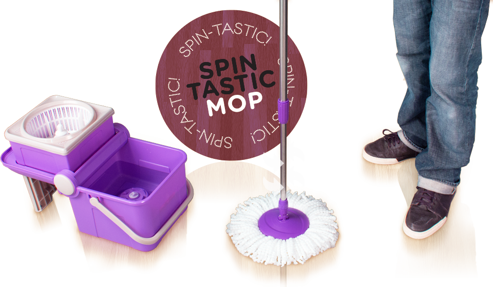 SPIN-TASTIC ! Mop ® - The fastes & easiest way to clean